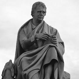 Sir Walter Scott by Dorothy Thomson - Buildings & Architecture Statues & Monuments ( scotland, statue, edinburgh, princes street, sir walter scott )