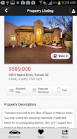 Screenshot of Long Realty AZ Home Search