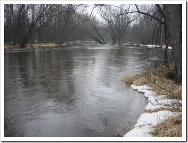 the river banks