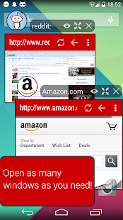 Hover Browser Screenshot