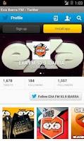 Screenshot of Exa Ibarra FM