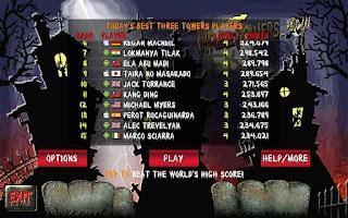 Screenshot of Three Towers Solitaire Free