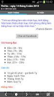 Screenshot of Lịch Việt Nam