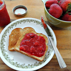 Easiest, Freshest Tasting Strawberry Jam – No Cooking, No Canning!