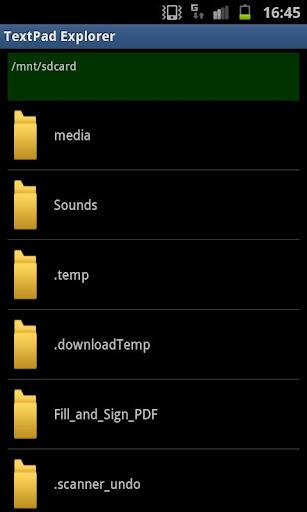 TextPad Explorer