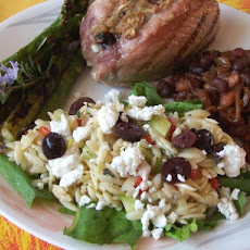 Light Greek Orzo Salad