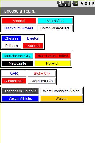 Prem Fixtures 2011 12