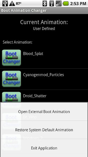 Boot Screen Changer Root