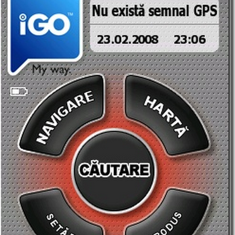 Despre modulul GPS si aplicatia iGO My Way 2006 Plus