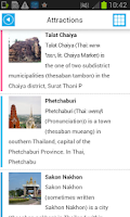 Screenshot of Thailand Offline Map & Weather