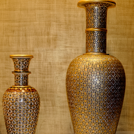 Flower Vases by Anupam Bhoumick - Artistic Objects Cups, Plates & Utensils