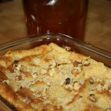 Creamy Maple Bread Pudding