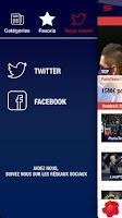 Screenshot of PSG infos / Actu,mercato,vidéo