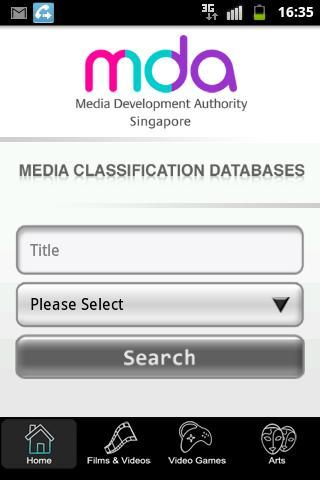 MDA Classification App