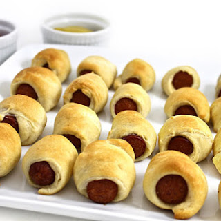 Skinny, Mini, Pigs In a Blanket (2 ingredients)