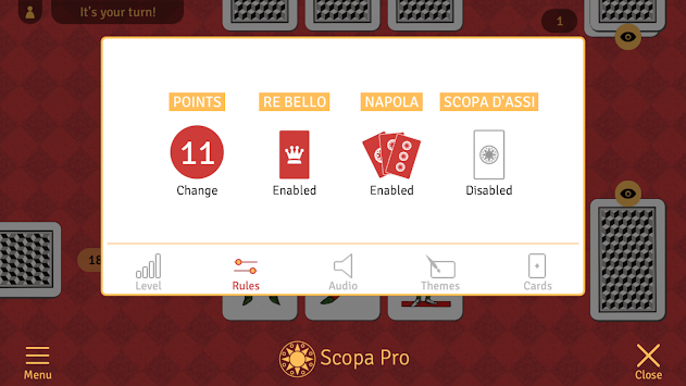 Scopa Pro APK screenshot thumbnail 2