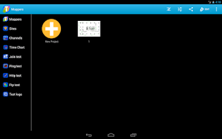 Screenshot of iMapper Wifi
