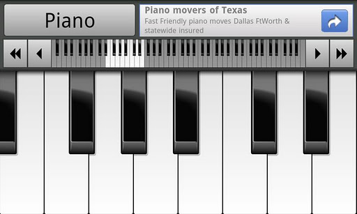 musical-piano-free for android screenshot
