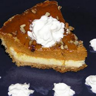 Cheesecake Layer Pumpkin Pie