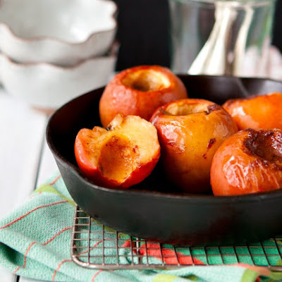 Whole Baked Cinnamon-Cardamom Apples