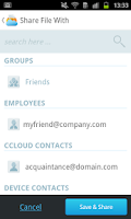 Screenshot of COMODO Cloud