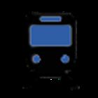 Blue Line Boston Subway MBTA icon