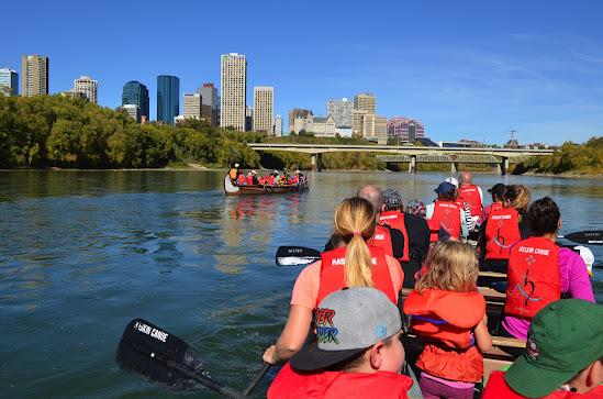 Canoe Lessons Elk Island Park