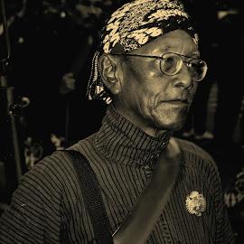 old man from Yogjakarta by Urip Supriyadi - People Portraits of Men