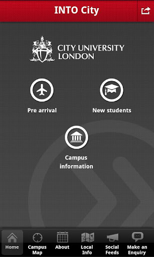 INTO City London student app