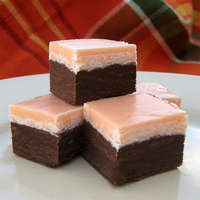 Halloween Layered Fudge