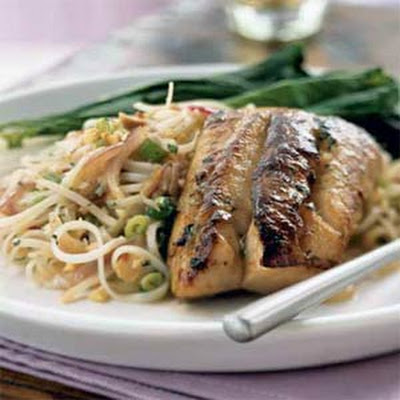Asian Marinated Striped Bass