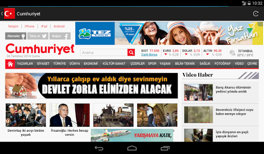 App Turkish Newspapers apk for kindle fire
