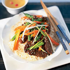 Bibimbap (Korean Rice Bowl with Ground Beef and Veggies) Recipe ...