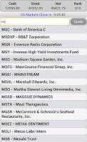 Screenshot of Stock Market Simulator