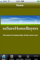 Screenshot of ezSure Home Buyers