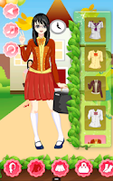 Screenshot of School Girl Dress Up