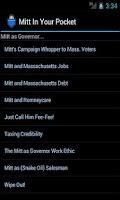 Screenshot of Mitt (Romney) in Your Pocket