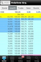 Screenshot of ADVFN Stocks & Shares
