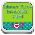 Dinner Party Invitations Cards icon