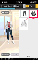 Screenshot of Fashion Star Designer