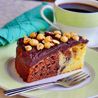 Chocolate Grand Marnier Sour Cream Coffee Cake