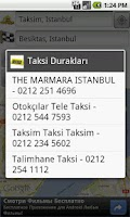 Screenshot of TaksiStanbul