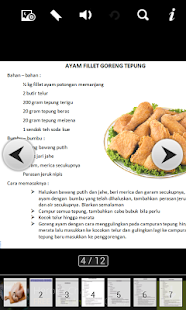 Resep Masakan Ayam Indonesia - screenshot
