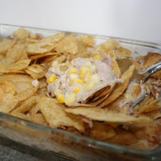 Mom's Potato Chip Tuna Casserole
