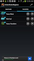 Screenshot of Techno Remix Ringtones