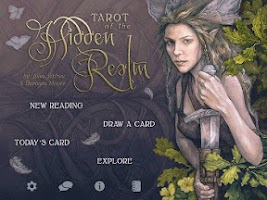Screenshot of Tarot of the Hidden Realm