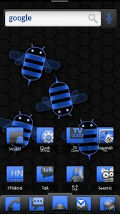 ADW Theme Honeycomb Mixx - screenshot