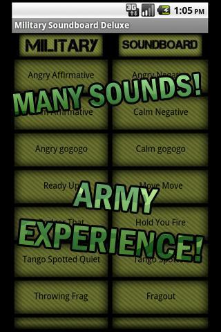 【免費娛樂App】Military Commands Deluxe-APP點子