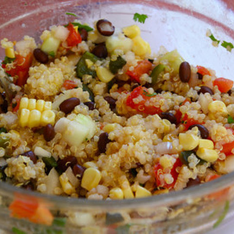 Quinoa Mexicana Salad Recipe — Dishmaps