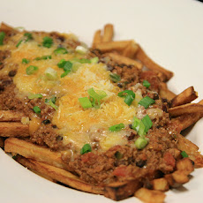 Venison Chili Cheese Fries